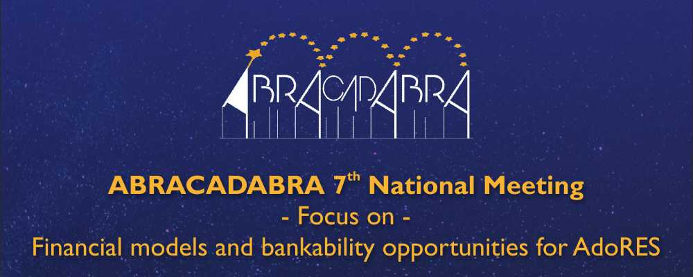 ABRACADABRA 7th National Meeting